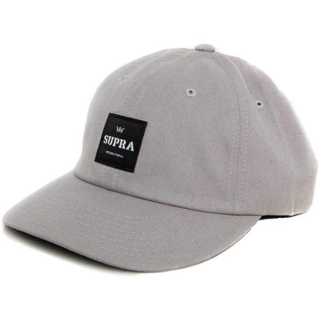 kšiltovka SUPRA - Label Slider Hat Light Grey (026)