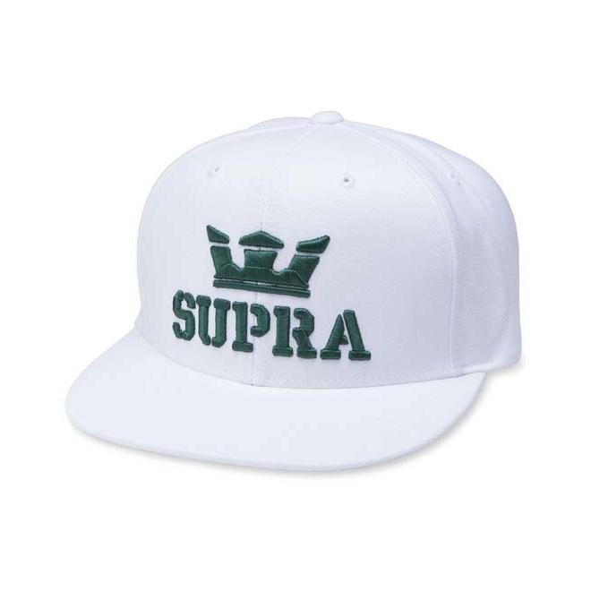 Cap SUPRA - Aboveiisnapbackhat White/Evergreen (161)