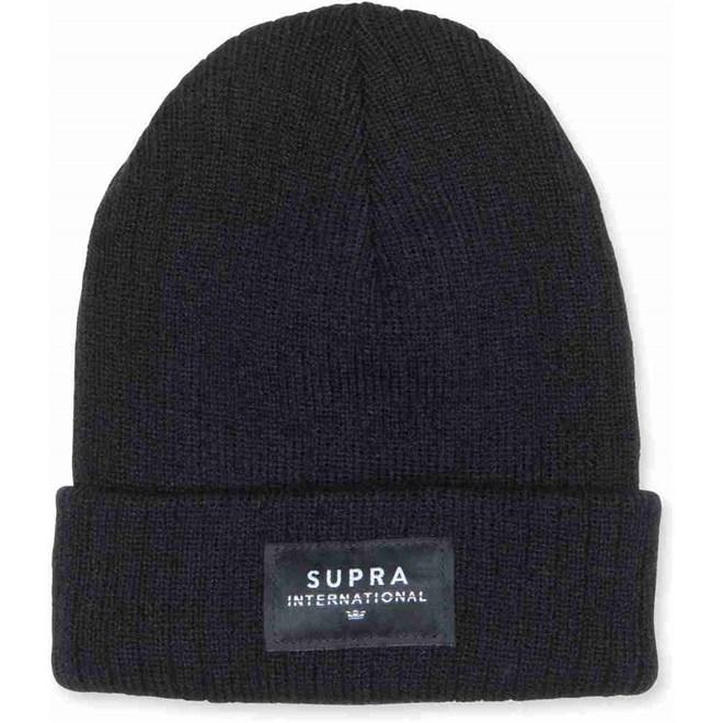kulich SUPRA - Icon Intl Beanie Black-Blk-Wht (093)