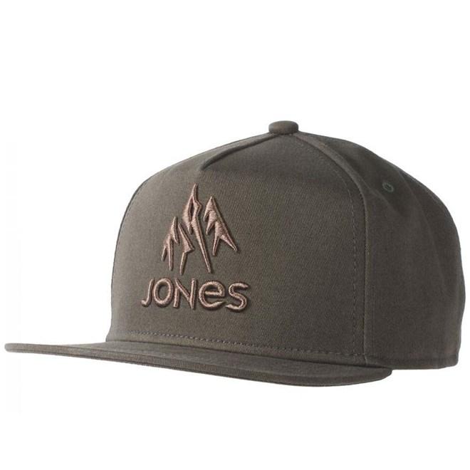 kšiltovka JONES - Jones Cap Jackson Cap Olive (OLIVE)