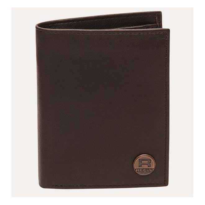 peněženka REELL - Clean Leather Brown Brown (Brown )