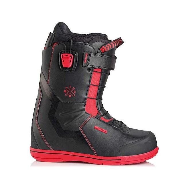 snb boty DEELUXE - IDxHC PF black/red (3927)