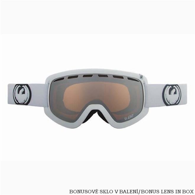 snb brýle DRAGON - D2 Powder Ionized + Amber (POWDER)