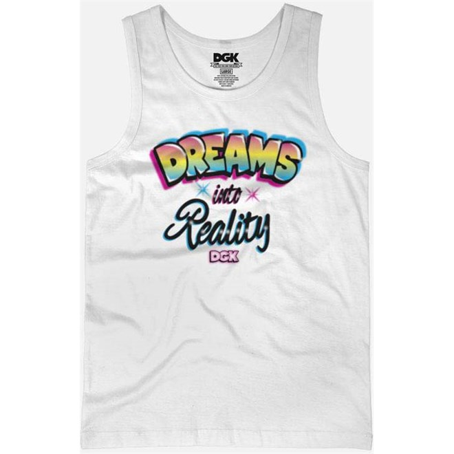 tílko DGK - Dreams Tank White (WHITE)