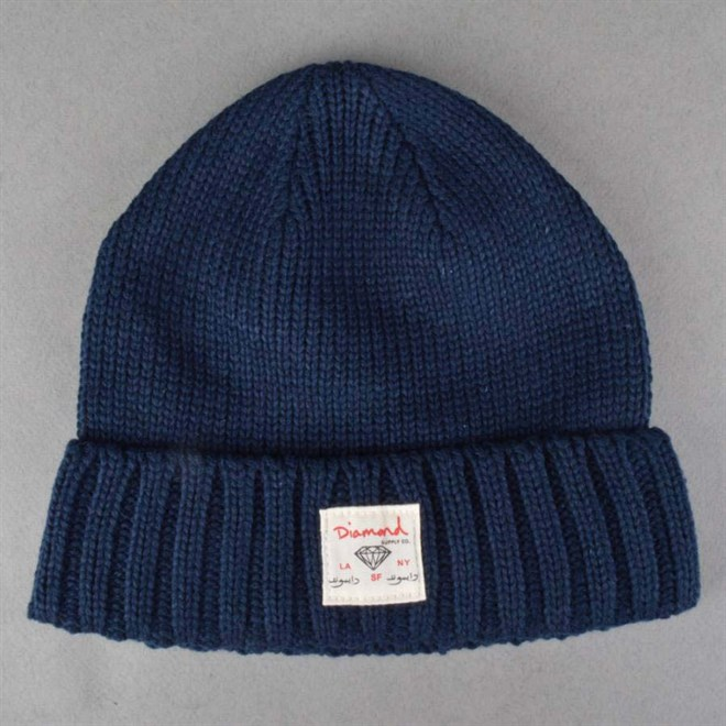 kulich DIAMOND - City Cuff Beanie Navy (NVY)
