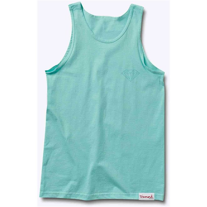 tílko DIAMOND - Tonal Chest Brilliant Tank Top Diamond Blue (DBLU)