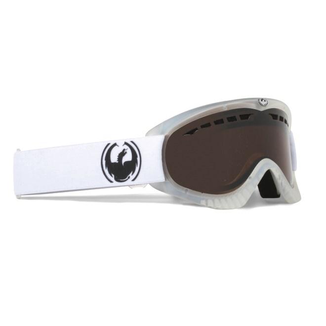 snb brýle DRAGON - Dxs Trans Matte Clear Eclipse (WHT)