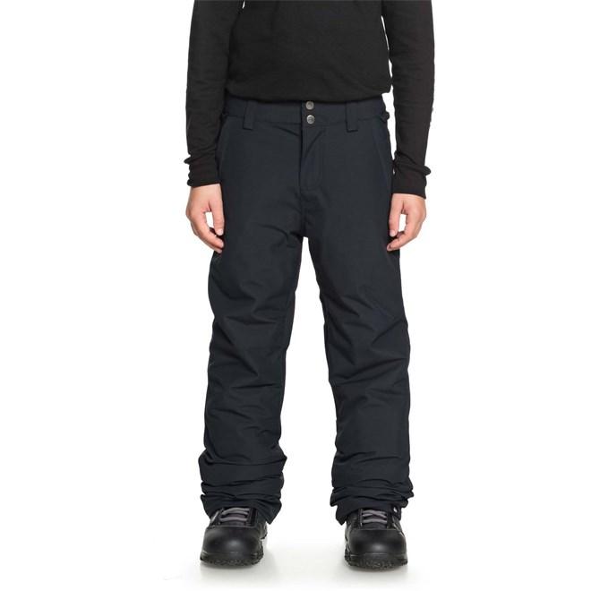 kalhoty QUIKSILVER - Estate Yth Pt Black (KVJ0)