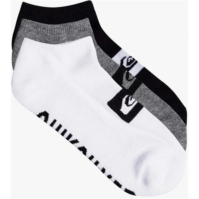 Socken QUIKSILVER - 3 Ankle Pack M Sock Ast (AST)