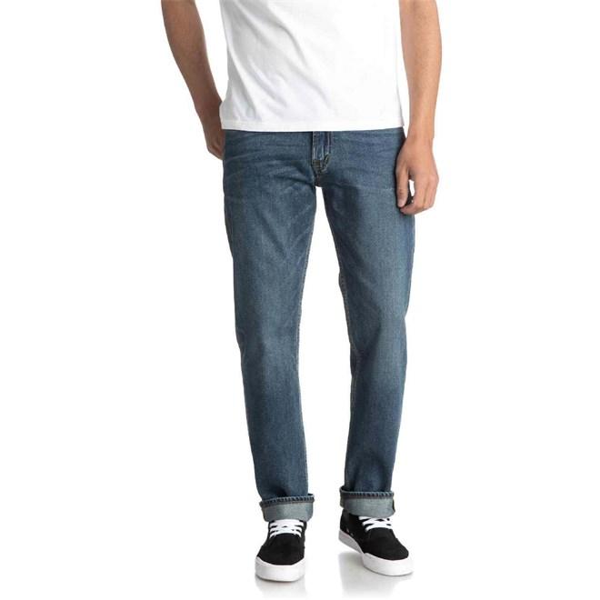 kalhoty QUIKSILVER - Sequelmediumblu M Pant Bygw (BYGW)