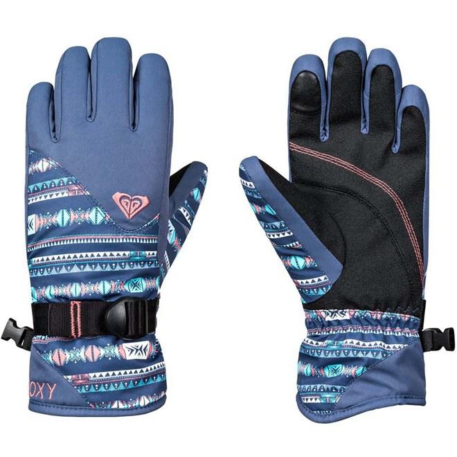 rukavice ROXY - Rx Jett Gir Glo Crown Blue Indie Stripes (BQY4)