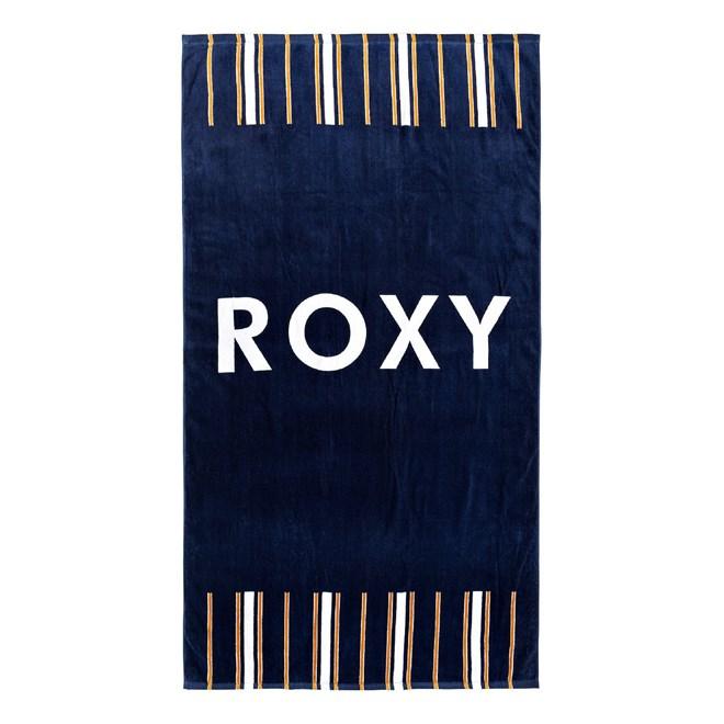 osuška ROXY - Hazy Mix Medieval Blue Macy Stripe Swim (BTE3)