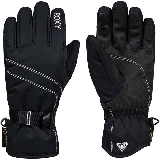 rukavice ROXY - Gore-Tex Fizz Gloves True Black (KVJ0)
