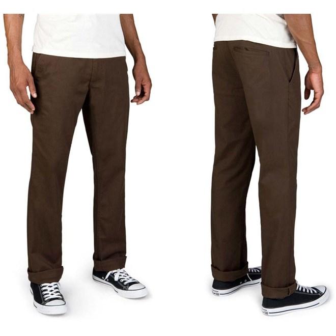 kalhoty BRIXTON - Reserve Brown (0400)
