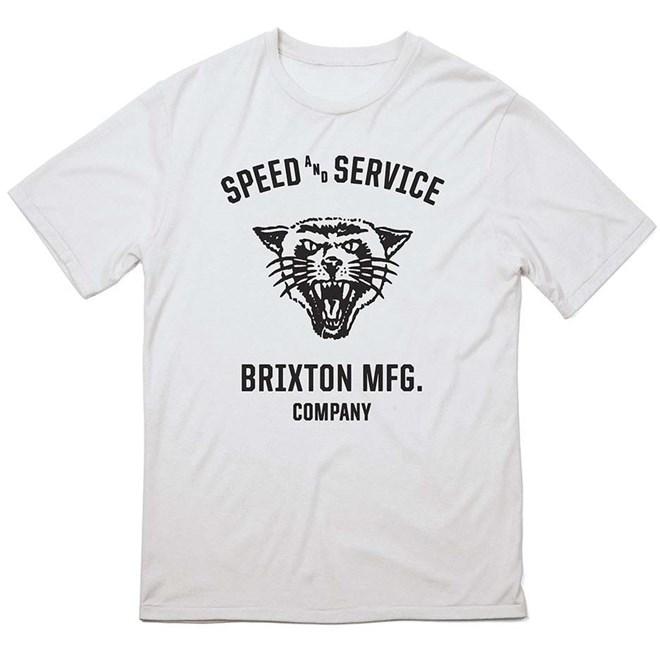 triko BRIXTON - Rydell White (0200)