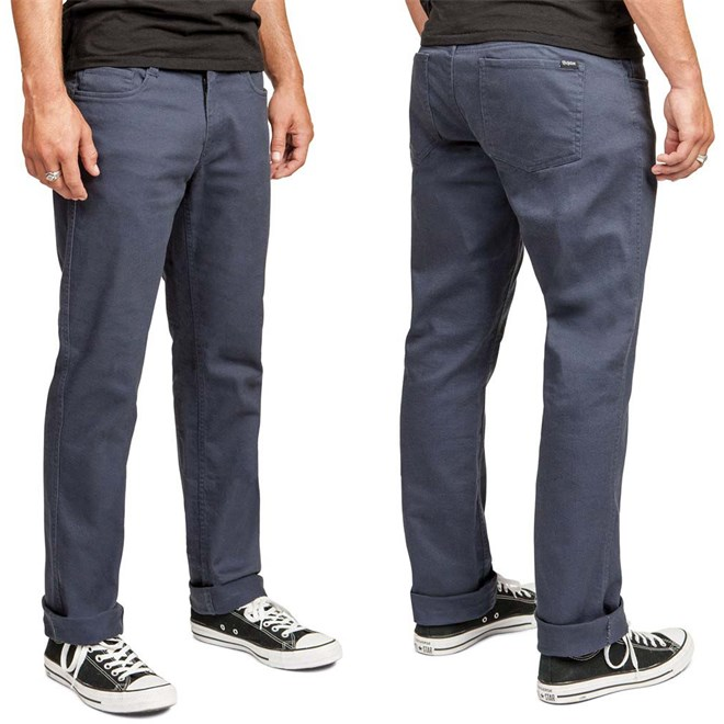 kalhoty BRIXTON - Grain Indigo (0811)