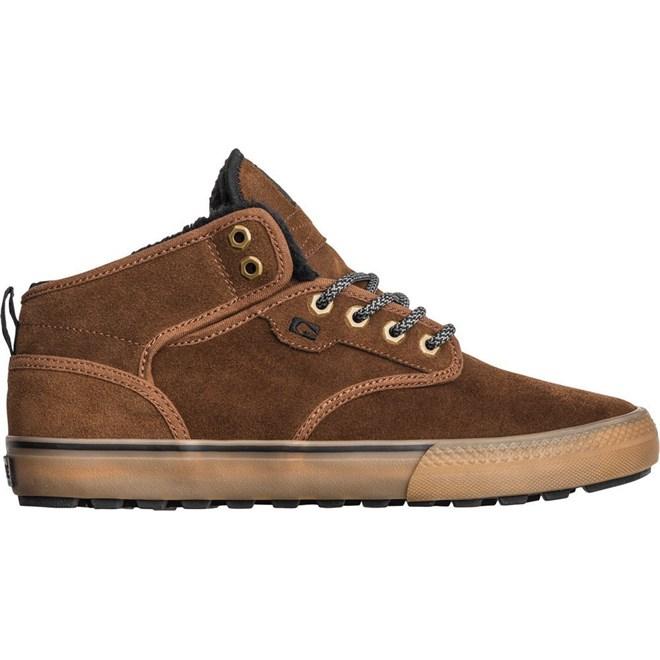 Shoes GLOBE - Motley Mid Partridge Brown/Gum/Fur (17293)