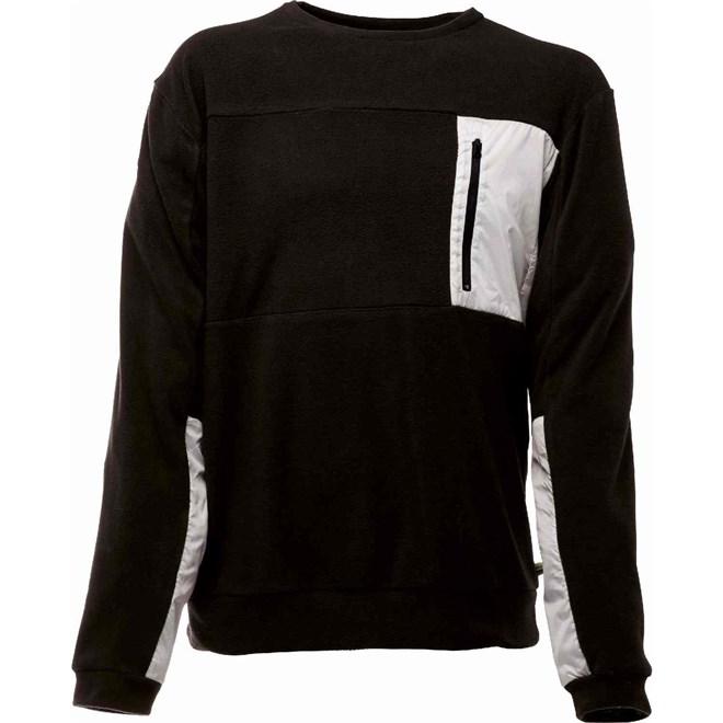 mikina BONFIRE - Hazard Fleece Black (BLK)