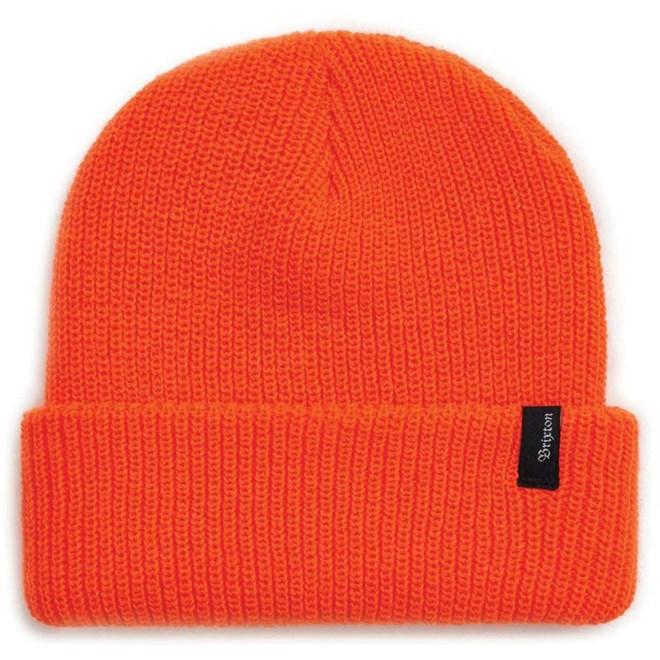 kulich BRIXTON - Heist Beanie Blaze Orange (BLZOR)