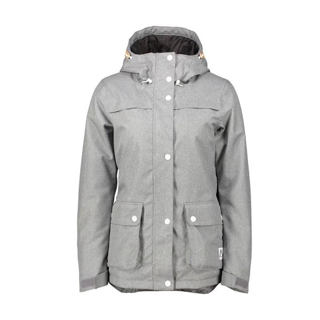 bunda CLWR - Ida Jacket Grey Melange  (801)