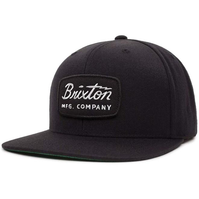 Cap BRIXTON - Jolt Snapback Black/Black/White (BBWHT)