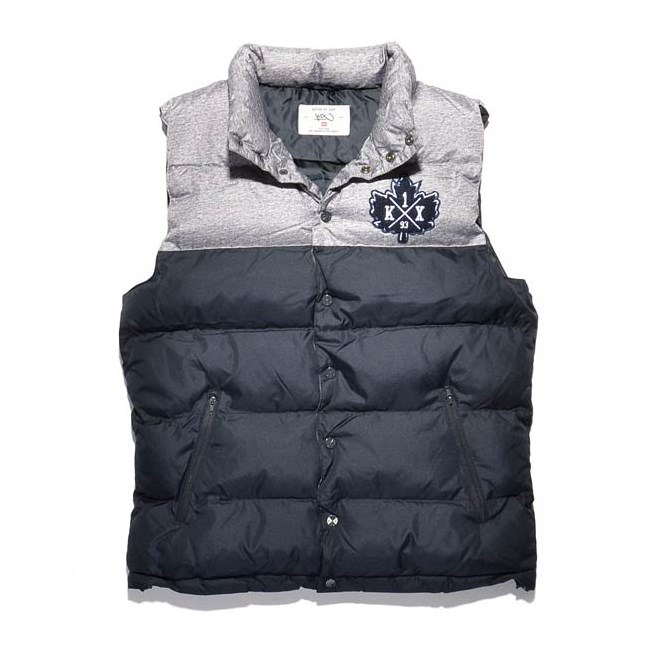 vesta K1X - Pa Vest Dark Grey Heather/Navy (8486)