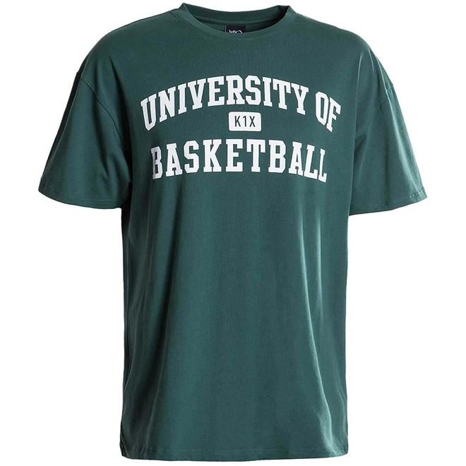 triko K1X - University of Basketball Tee hunter green (3032)