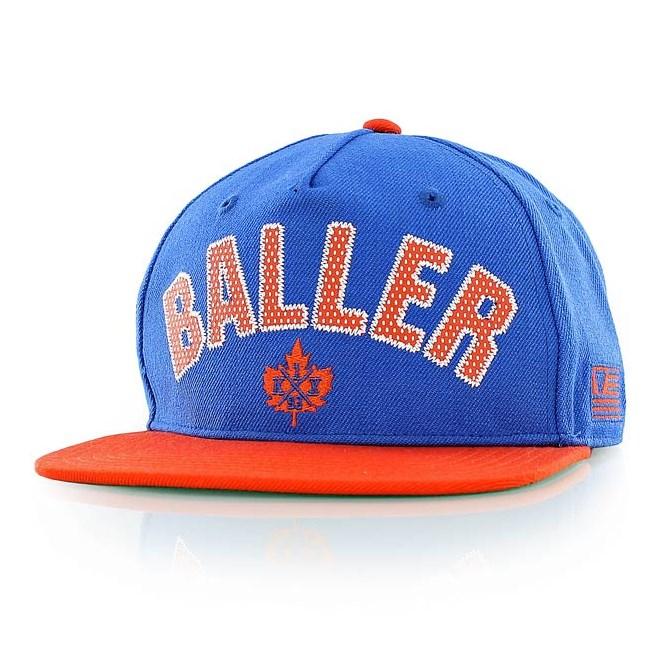 kšiltovka K1X - Baller Snapback Cap Royal Blue/Flame (4251)