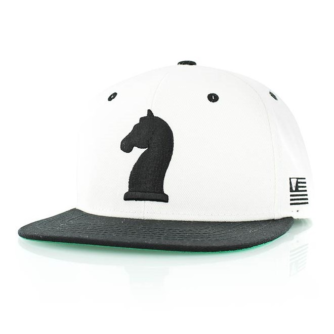 kšiltovka K1X - Knight White/Black (1000)