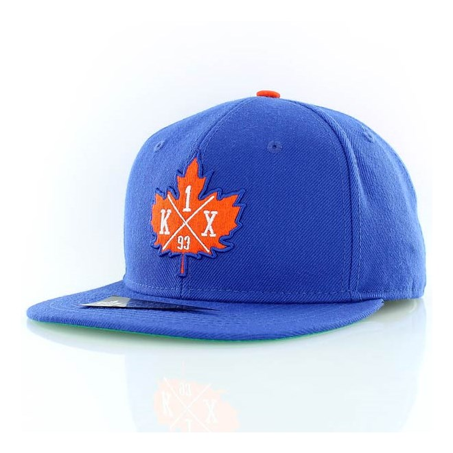 kšiltovka K1X - Leaf Crest Cobalt/Orange (4678)