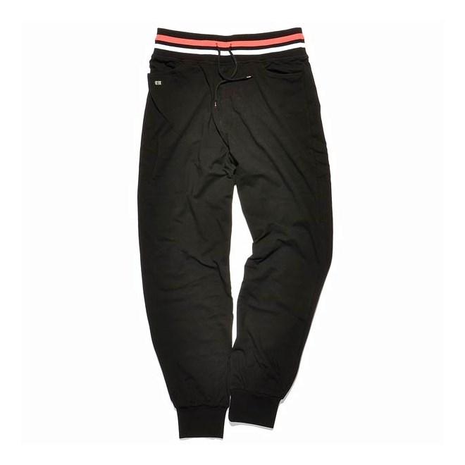 kalhoty K1X - Collared Black/White (0010)