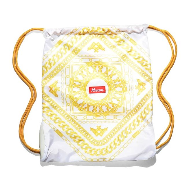 gymsack KREAM - Kream Jackie Chain Ii Bag White/Gold (1201)