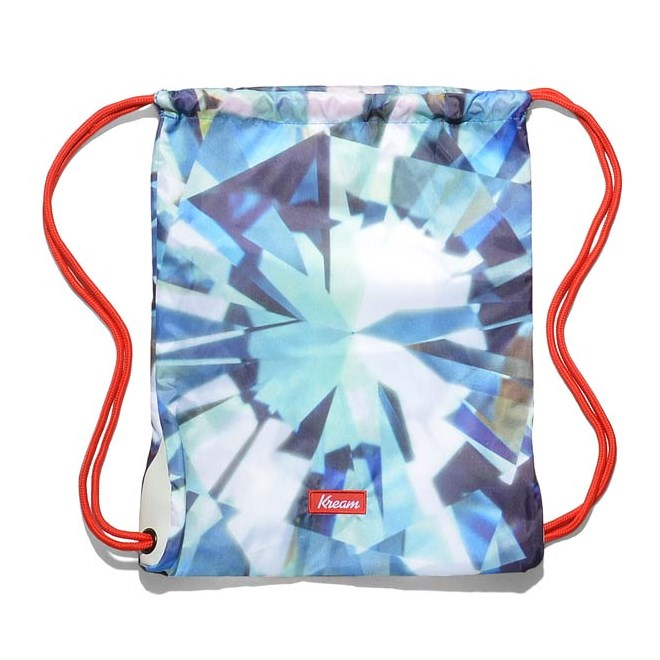 gymsack KREAM - Kream Kristall Mett Bag Blue/White (4153)