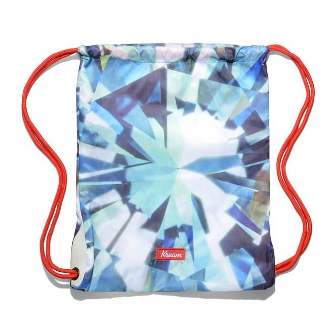 gymsack KREAM - Kream Kristall Mett Bag Blue/White (4153)