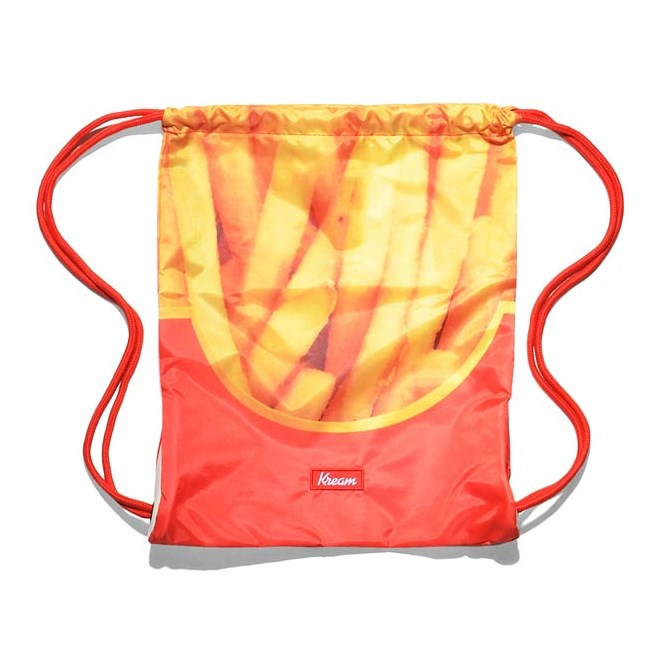 gymsack KREAM - Kream Pum Fizz Bag Red/Yellow (6200)