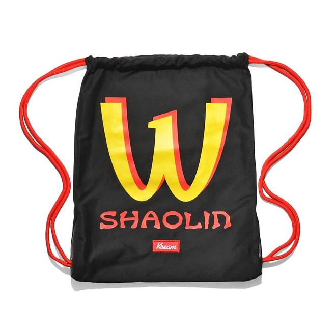 gymsack KREAM - Kream Shaolin Bag Black (0001)