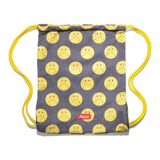 gymsack KREAM - Kream Sheepan Upturn Bag Black/Yellow (0200)