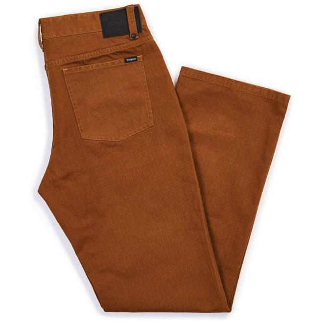 kalhoty BRIXTON - Labor 5-Pkt Pant Copper (COPPR)