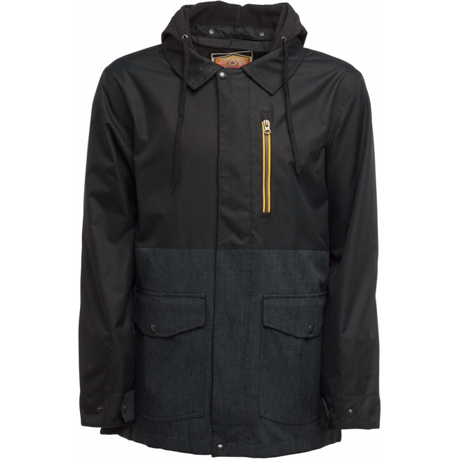 bunda SESSIONS - Lithium Jacket Black (BLK)