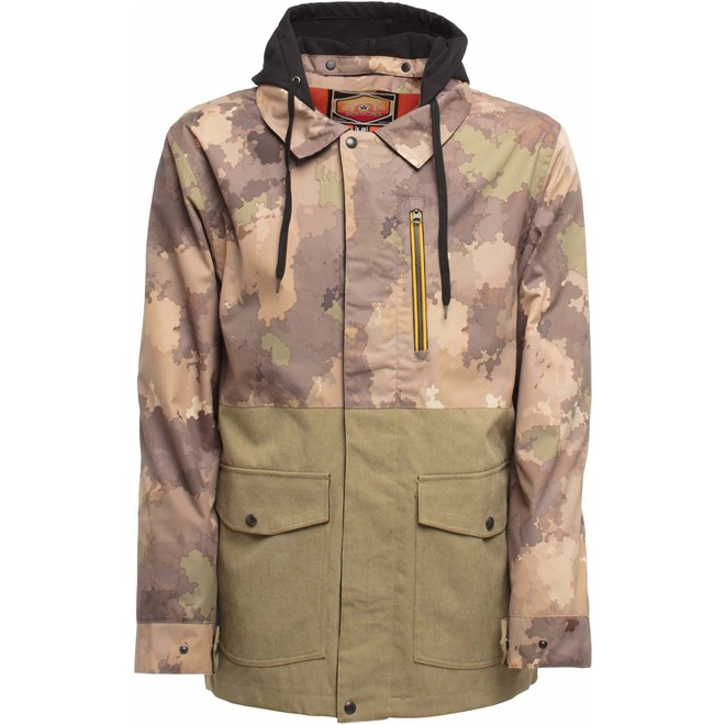 bunda SESSIONS - Lithium Jacket Camo Fatigue (CFT)