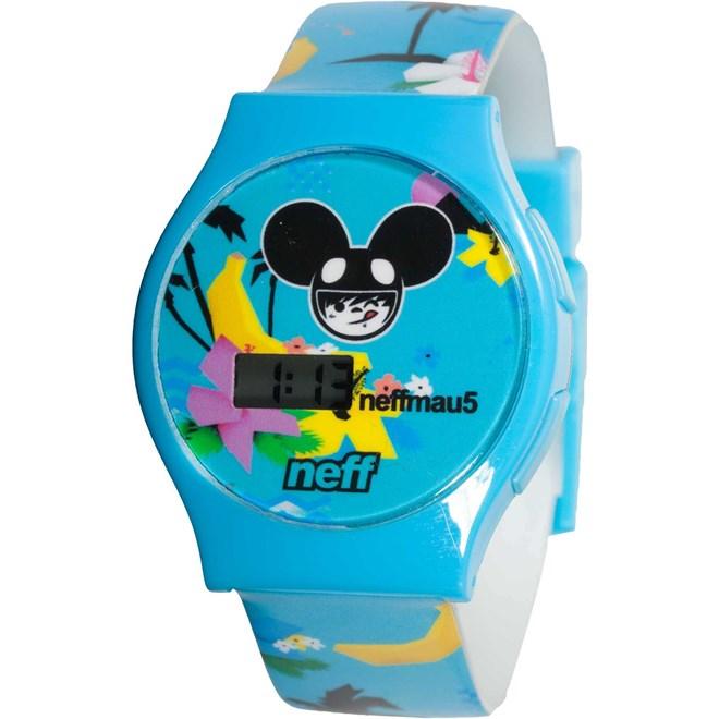 hodinky NEFF - Mau5 Watch (BLUE)