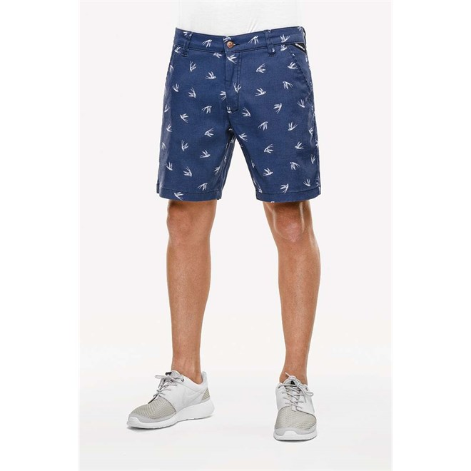 kraťasy REELL - Miami Short Navy Swallow (NAVY SWALLOW)