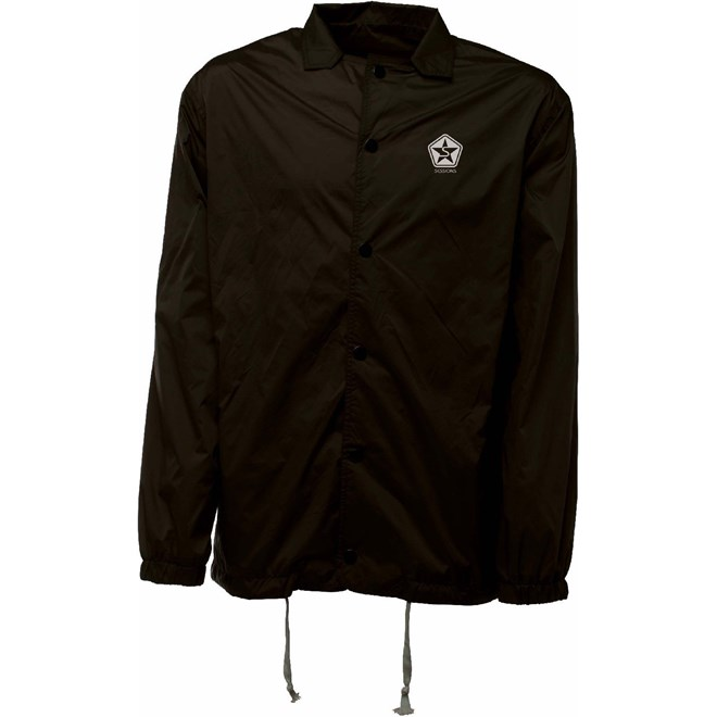 bunda SESSIONS - Missile Coaches Jacket Black (BLK)