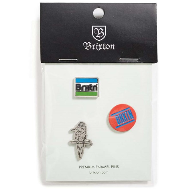 odznak BRIXTON - Nobel Pin Pack Multi (MULTI)