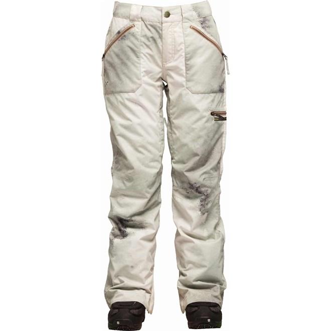 kalhoty BONFIRE - PearlPantOilFadePrint Natural (NAT)