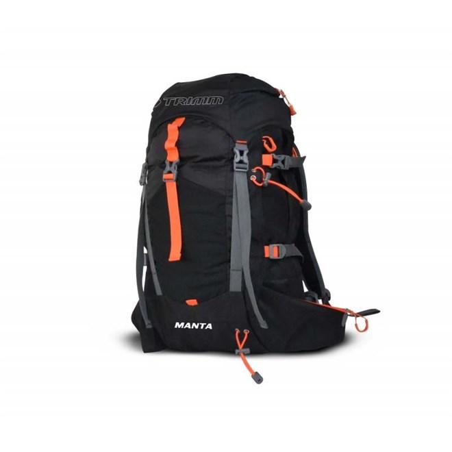 batoh TRIMM - Manta Black/Orange (BLACK-ORANGE)