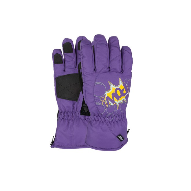 snb rukavice POW - Grom Glove Purple  (PU)