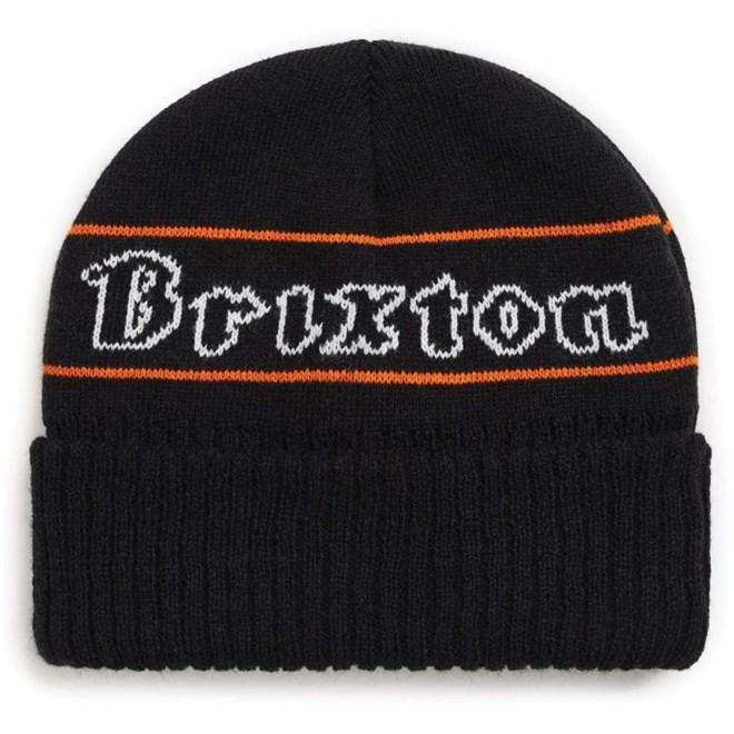 kulich BRIXTON - Proxy Beanie Black/Orange (BKORG)
