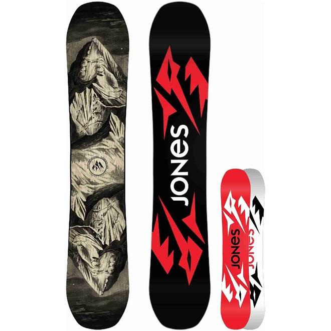 snowboard JONES - Ultra Mountain Twin Black (BLACK)