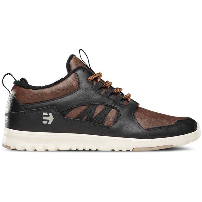 boty  ETNIES - Scout Mt Black/Brown  (590)
